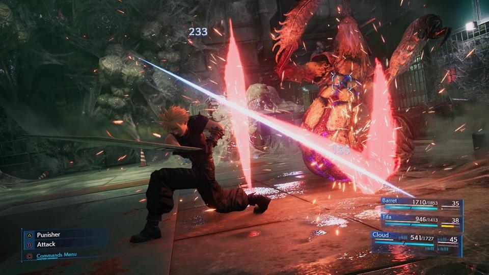 Final Fantasy 7 Remake / FFVII Remake - Trailer Breakdown and Analysis - Cloud, Barret, and Tifa at Mako Reactor #5