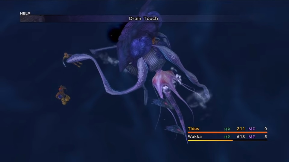 Final Fantasy X Echuilles Boss Guide