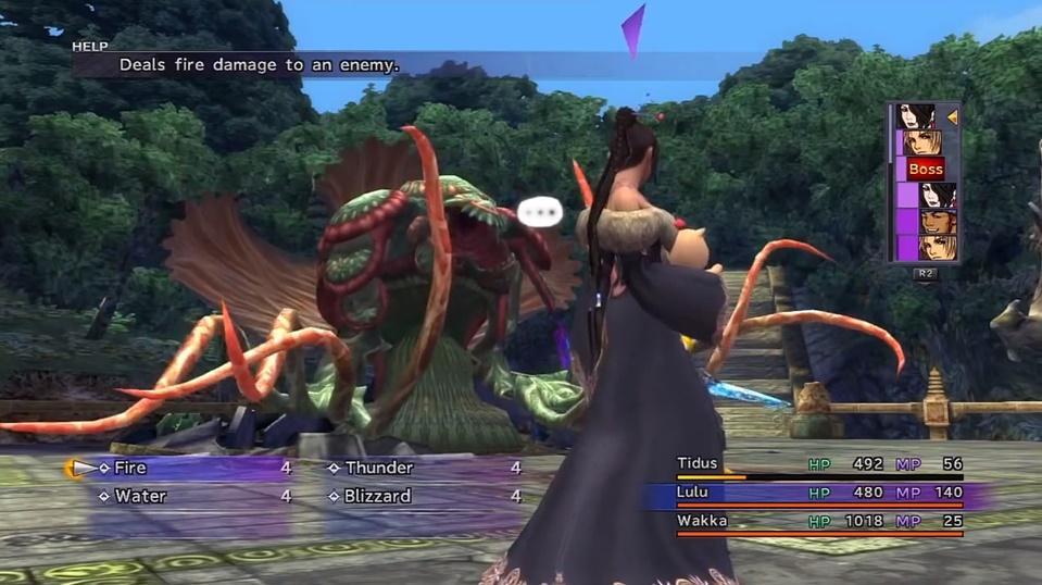Final Fantasy X Geneaux Boss Guide