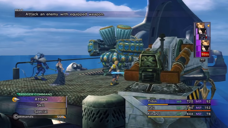 Final Fantasy X Oblitzerator Boss Guide