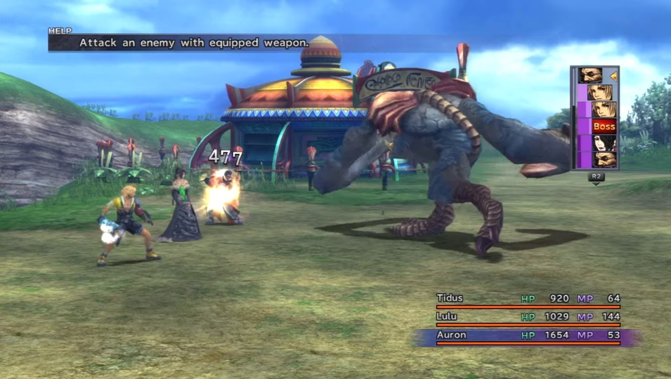 Final Fantasy X Chocobo Eater Boss Guide