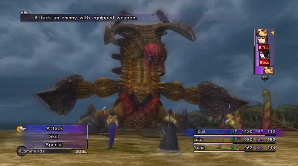 Final Fantasy X Sinspawn Gui Boss Guide