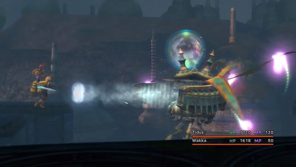 Final Fantasy X Extractor Boss Guide