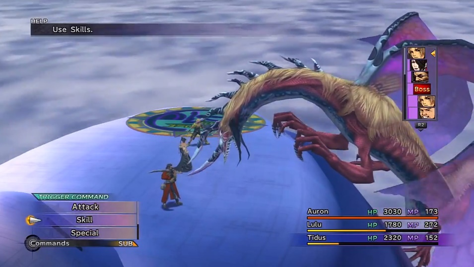 FFX Evrae Boss Guide