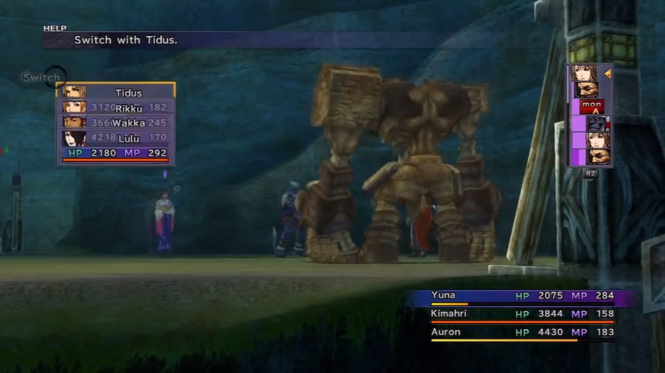 FFX Defender X Boss Guide