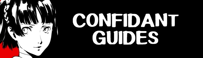 Persona 5 / Persona 5 Royal - Confidant Guides by Samurai Gamers