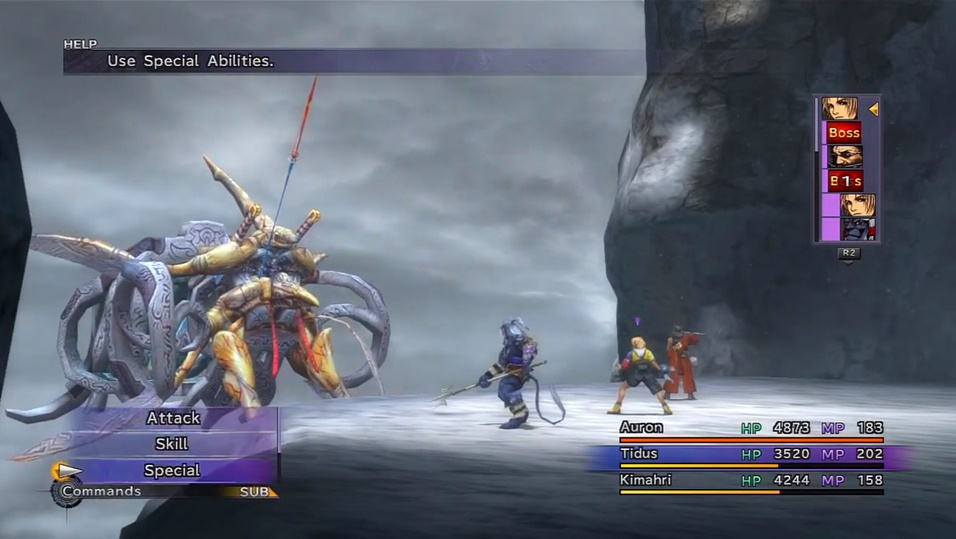 FFX Seymour Flux Boss Guide