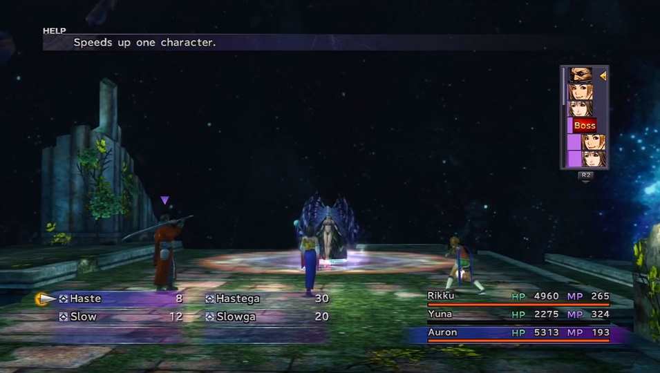 FFX Yunalesca Boss Guide
