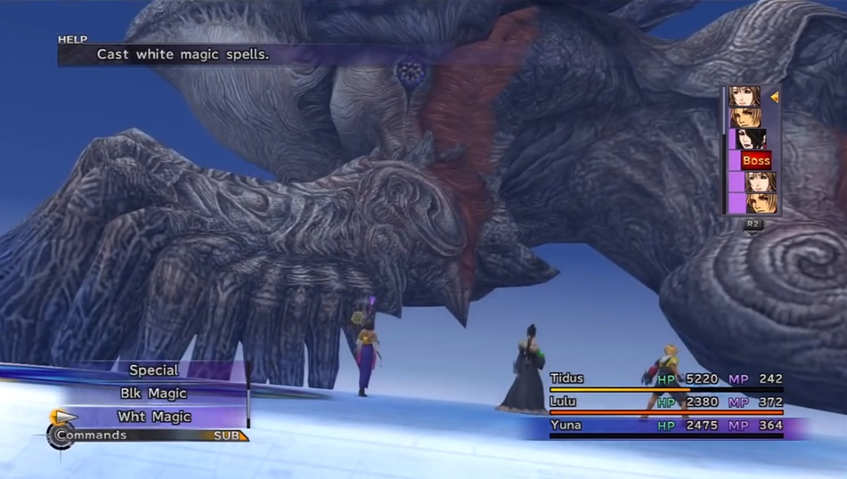 FFX Sin's Left Fin Boss Guide