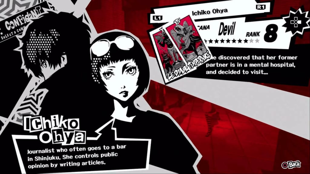 Persona 5 / Persona 5 Royal - Ohya, the Devil Confidant