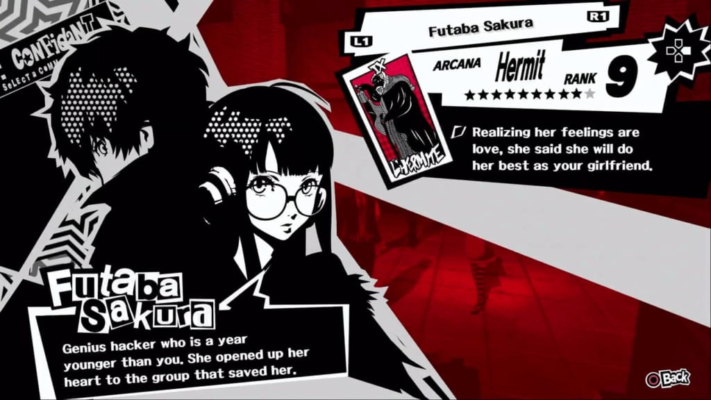 Persona 5 / Persona 5 Royal - Futaba, the Hermit Confidant