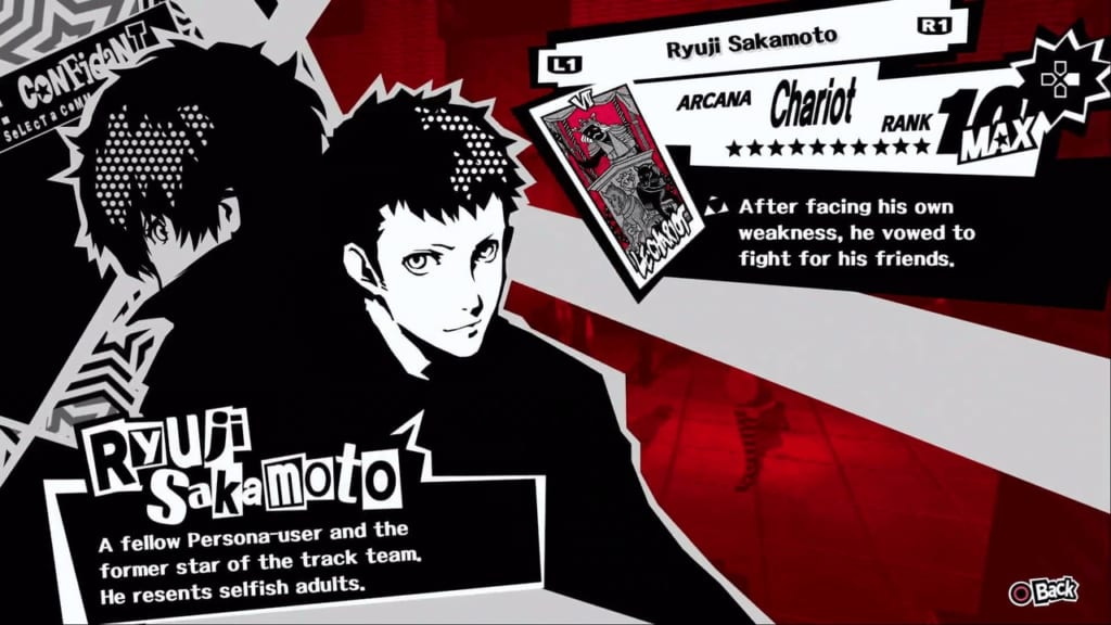 Persona 5 / Persona 5 Royal - Ryuji, the Chariot Confidant