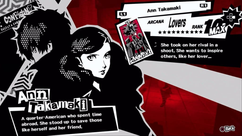 Persona 5 / Persona 5 Royal - Ann, the Lovers Confidant