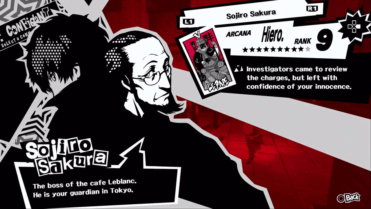 Persona 5 / Persona 5 Royal - Sojiro Sakura, the Hierophant