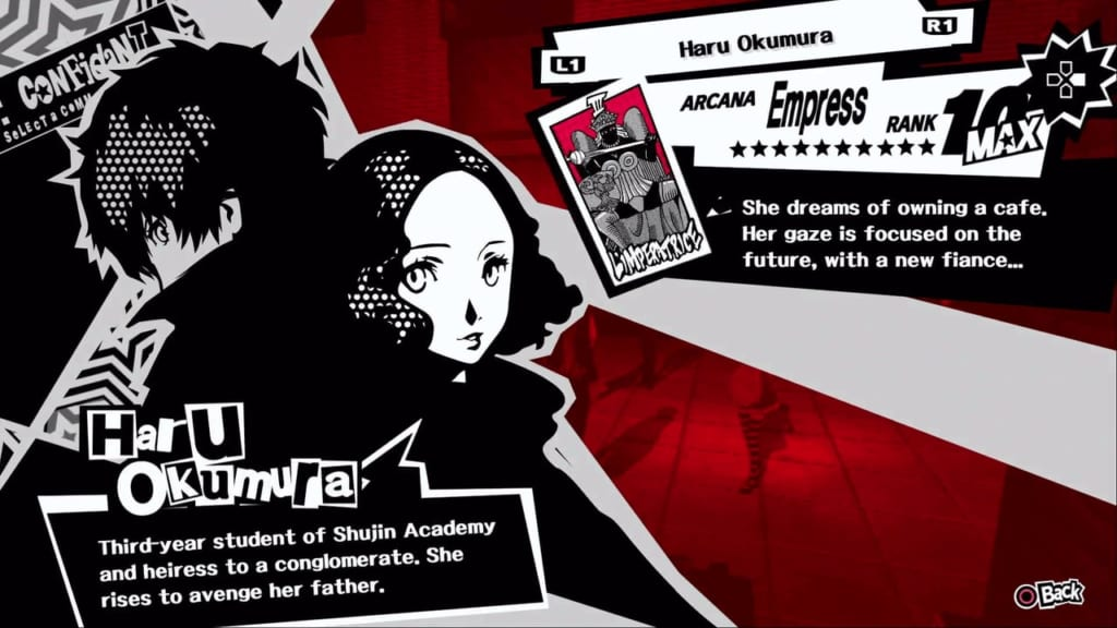 Persona 5 / Persona 5 Royal - Haru, the Empress Confidant