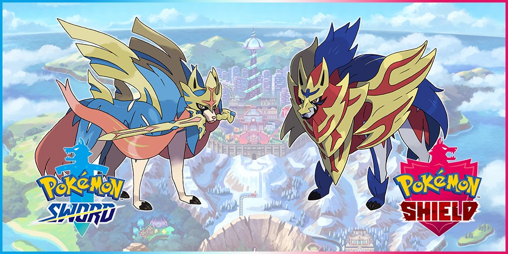 Pokemon Sword and Shield - Legendary Pokemon