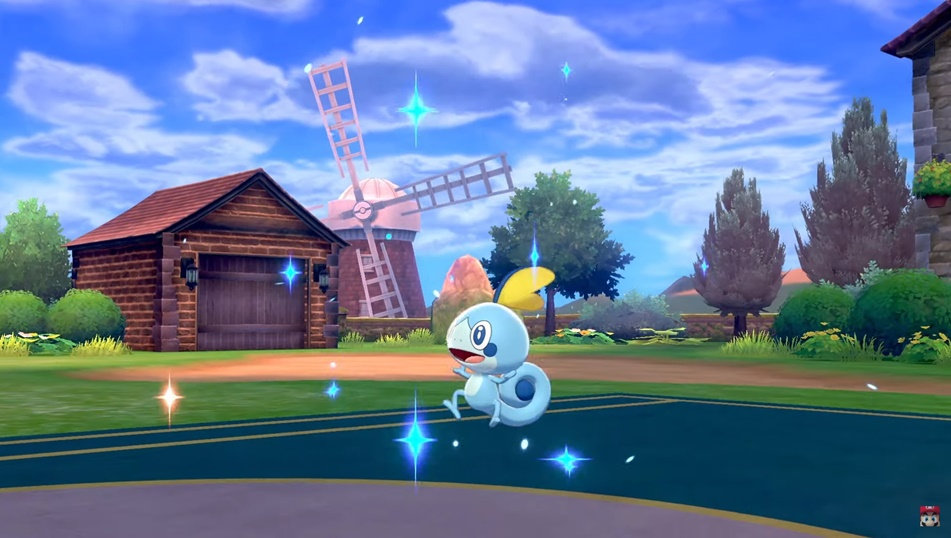 Pokemon Sword and Shield Hop