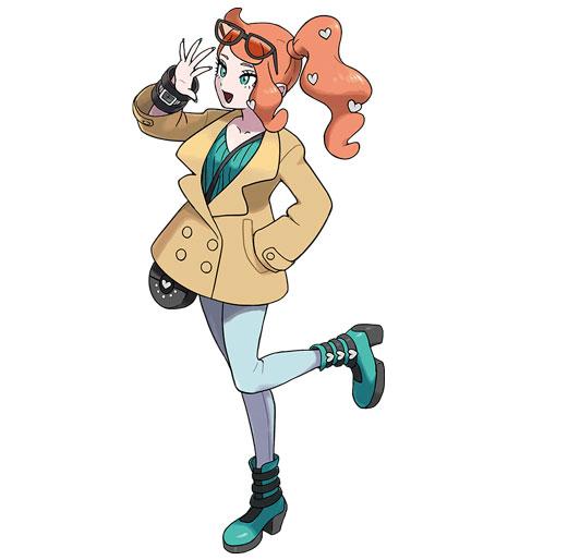 Pokemon Sword and Shield Sonia