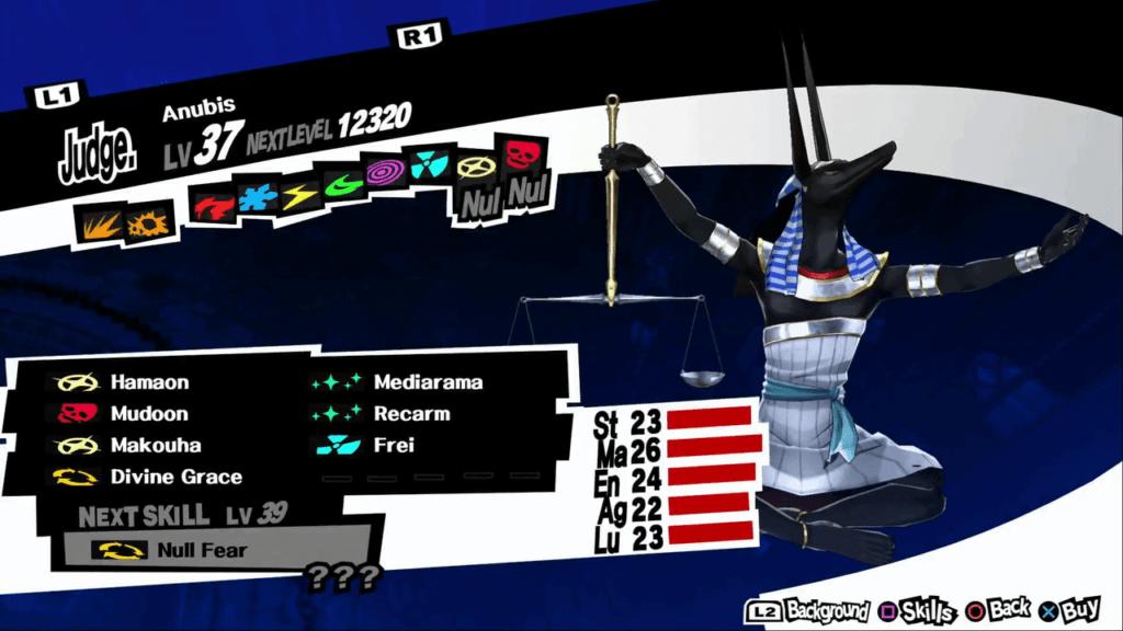 Persona 5 / Persona 5 Royal - Anubis