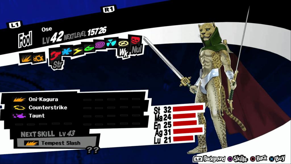Persona 5 / Persona 5 Royal - Ose