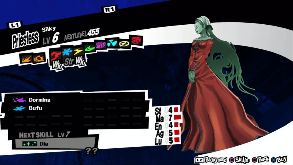 Persona 5 / Persona 5 Royal - Silky