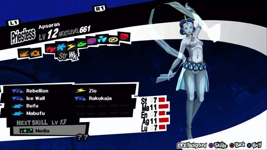 Persona 5 / Persona 5 Royal - Apsaras