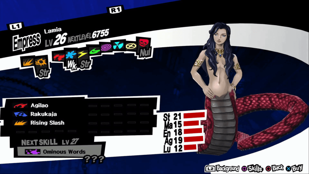Persona 5 / Persona 5 Royal - Lamia