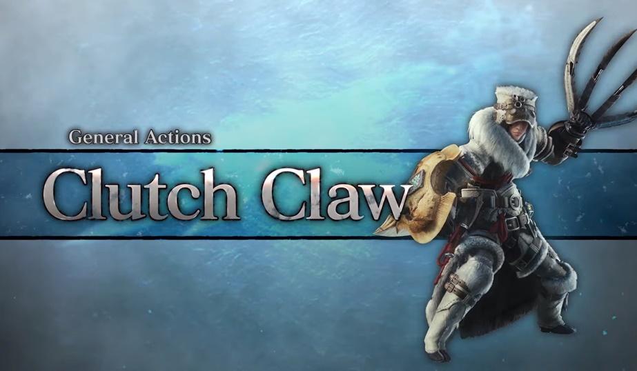 MHW Iceborne Clutch Claw