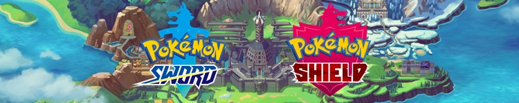 Pokemon Sword and Shield - Game Category Banner