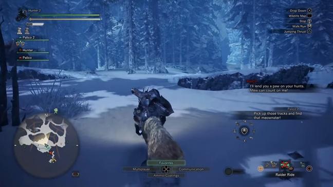 MHW Iceborne Raider Ride