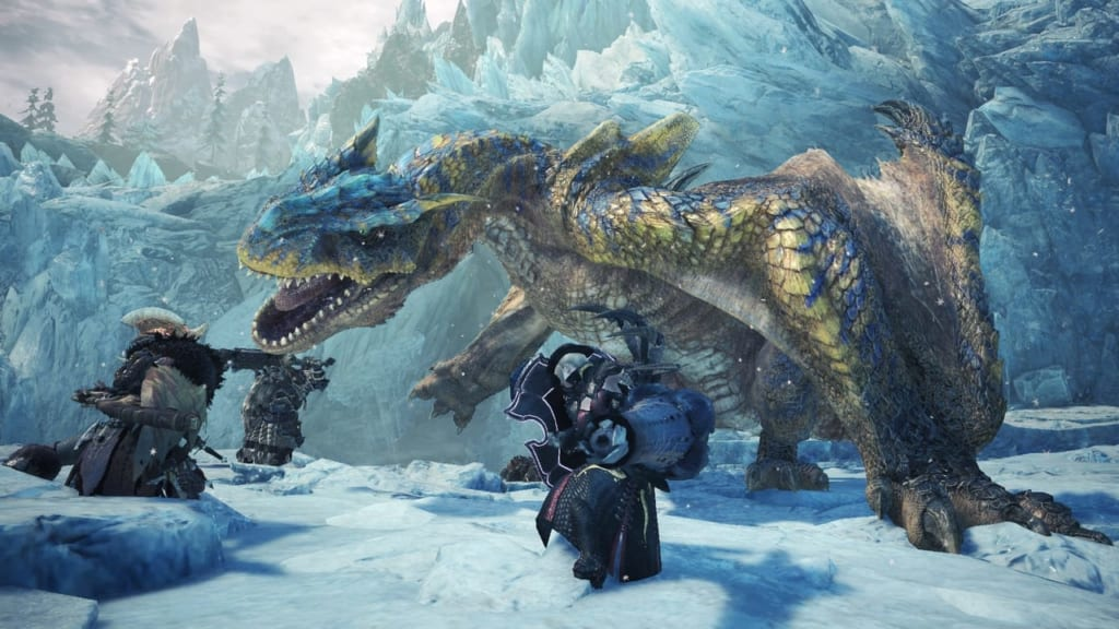 Monster Hunter World: Iceborne - Tigrex