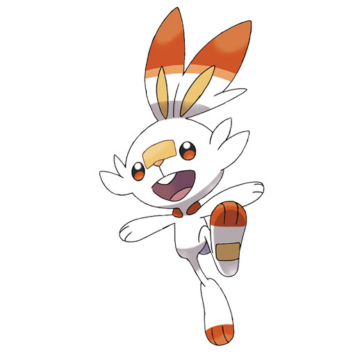 Pokemon Sword and Shield - Scorbunny
