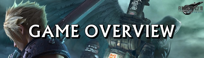 FInal Fantasy 7 Remake - Game Overview Banner