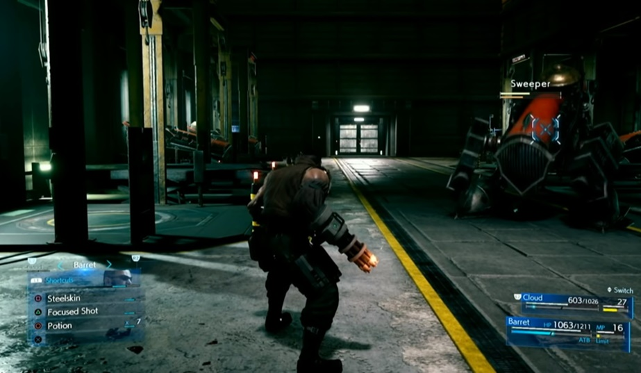 FF7 Remake Battle System