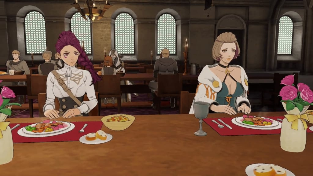 FIre Emblem: Three Houses - Faculty and Knight Mixer