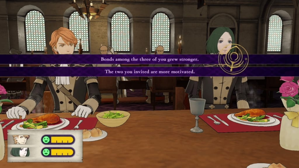 FIre Emblem: Three Houses - Full Menu
