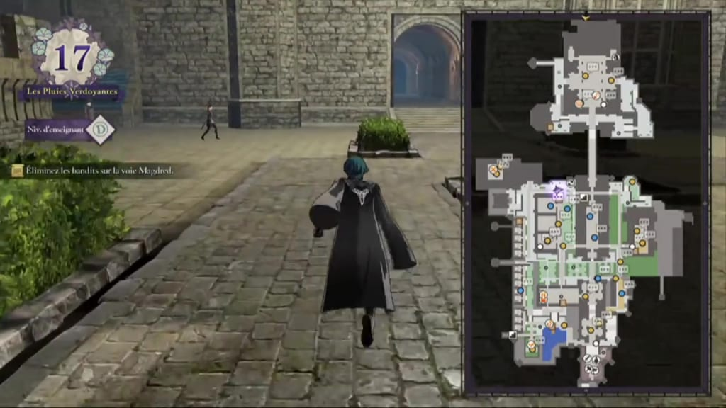 Fire Emblem: Three Houses - Monastery Mini-Map Expansion