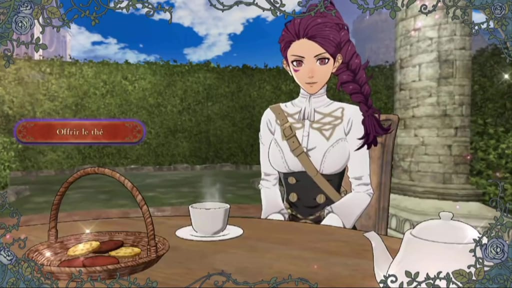 Fire Emblem: Three Houses - Tea Party with Petra