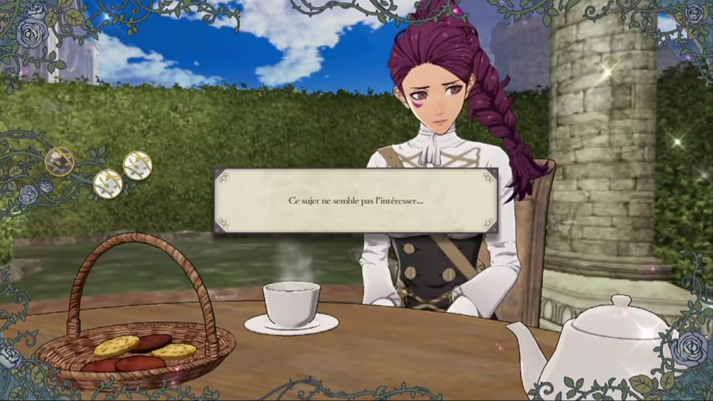Fire Emblem: Three Houses - Tea Party with Petra Failed Answer