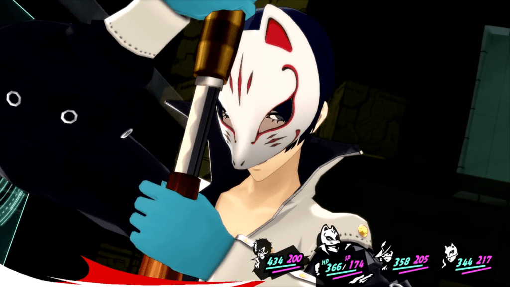 Persona 5 / Persona 5 Royal - Yusuke Tag Team Attack with Ann