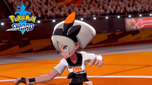 Pokemon Sword and Shield - Bea Gym Leader
