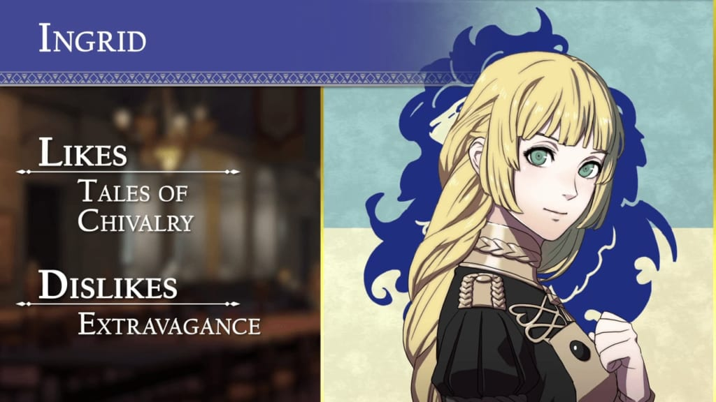 Fire Emblem: Three Houses - Blue Lions House Ingrid