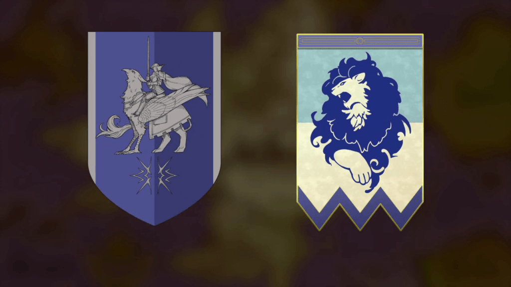 Fire Emblem: Three Houses - Blue Lions House Flags