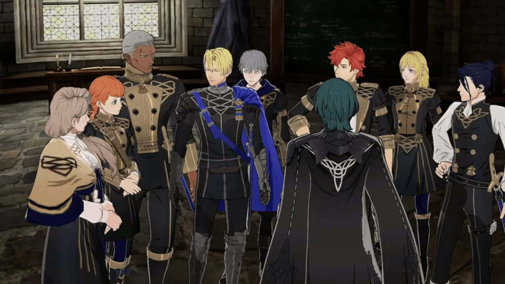 Fire Emblem: Three Houses - Blue Lions House Students