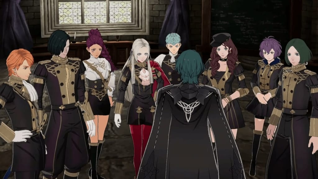 Fire Emblem: Three Houses - Black Eagles Best Classes