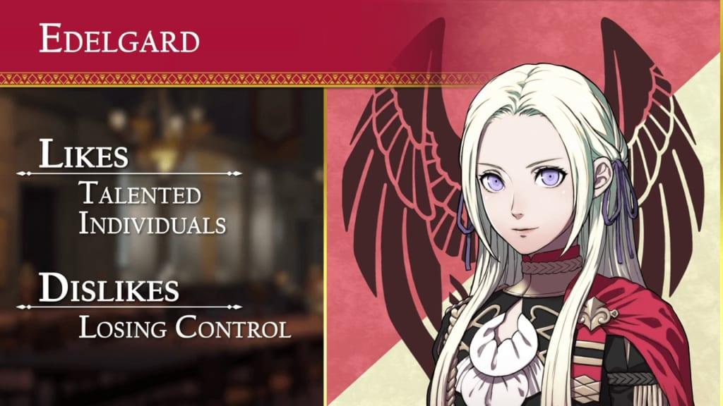 Fire Emblem: Three Houses - Black Eagles House Edelgard