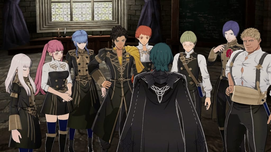 Fire Emblem: Three Houses - Golden Deer House Students