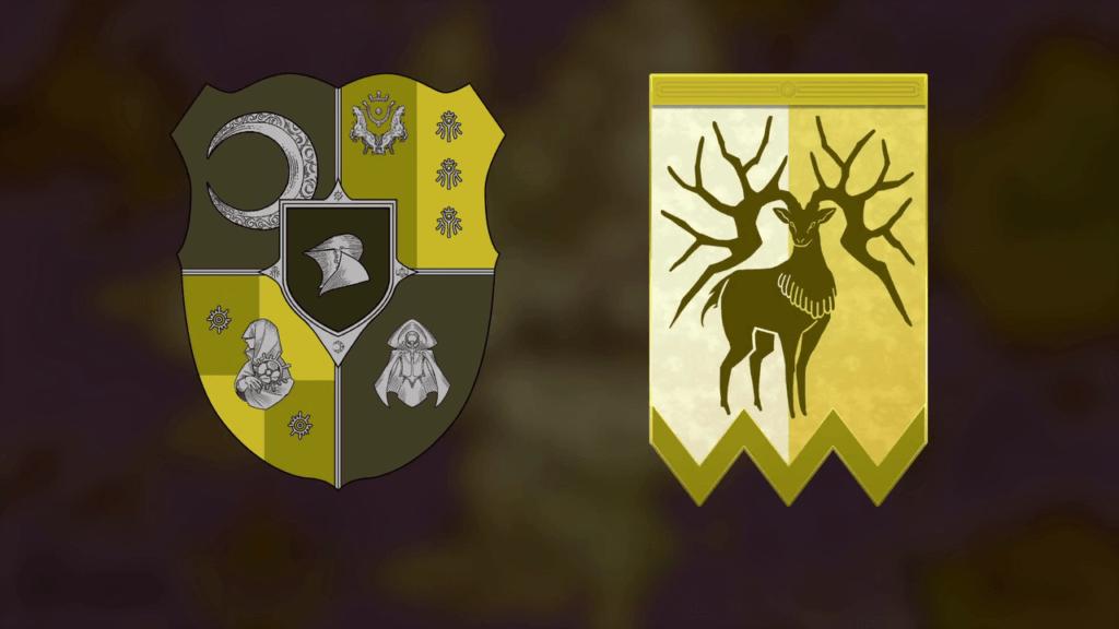 Fire Emblem: Three Houses Golden Deer House Coat of Arms