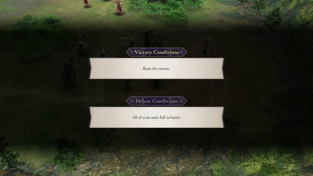Fire Emblem: Three Houses - Victory and Defeat Conditions
