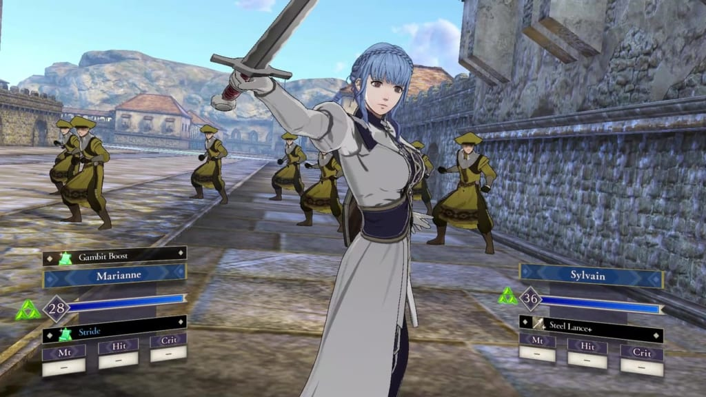 Fire Emblem: Three Houses - Battalions